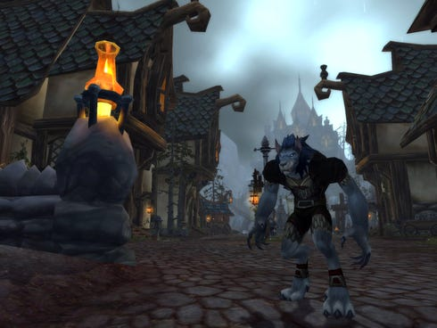 A scene from the 'World of Warcraft' expansion 'Cataclysm.'