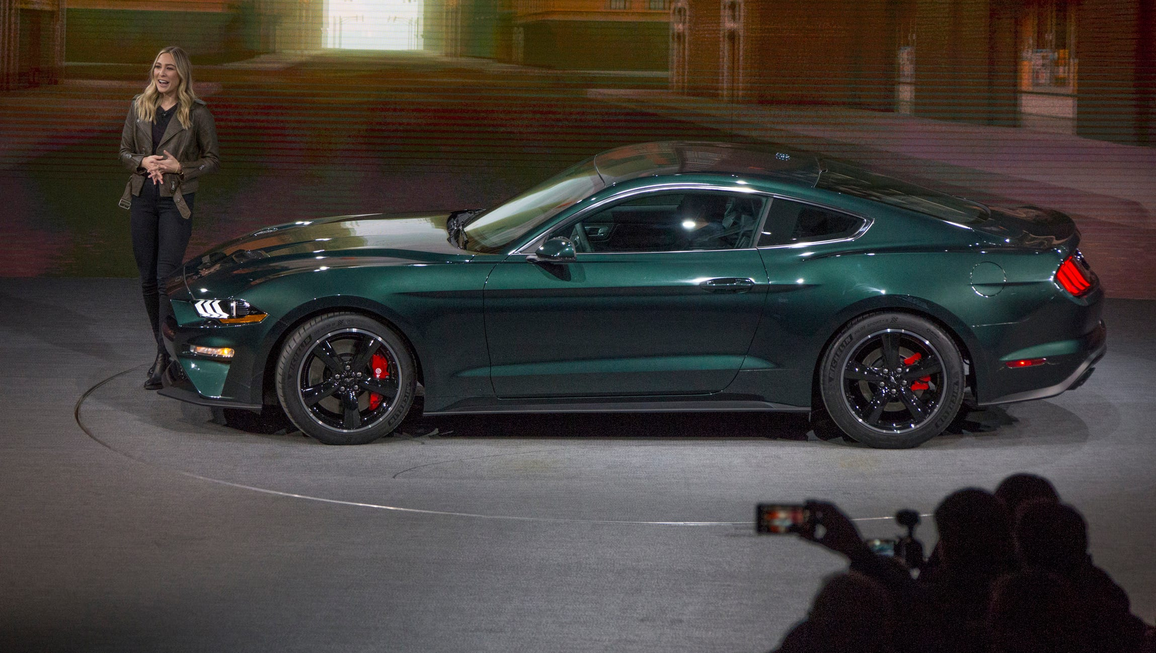 Ford Shows Off 2019 Mustang Bullitt Finds Original 1968 Fastback