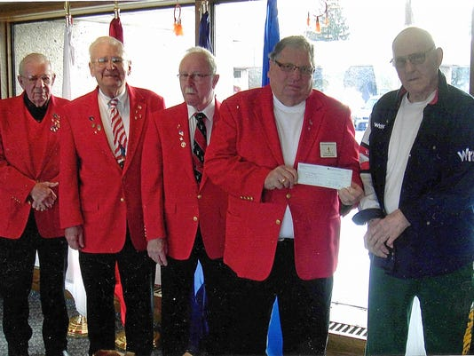 Elks 676 visits veterans