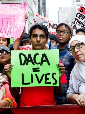 The fate of the Deferred Action for Childhood Arrivals program, or DACA, will be an early litmus test in the battle over national immigration policy in 2018.