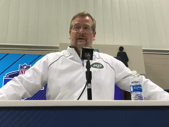 Jets general manager Mike Maccagnan talks about the
