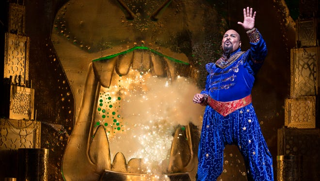 James Monroe Iglehart plays the Genie in Broadway's 'Aladdin.'