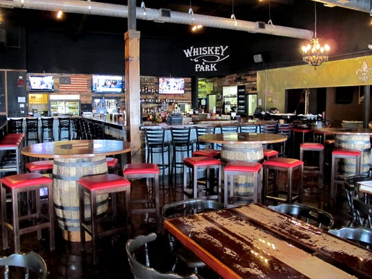 Whiskey Park opened April 27, 2016, in the former space of The Captain's Cabin, 3380 Mercantile Ave., East Naples. (Tim Aten/Daily News staff)