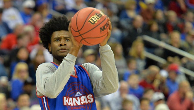 Josh Jackson spent a year at Kansas before being drafted by the Phoenix Suns.