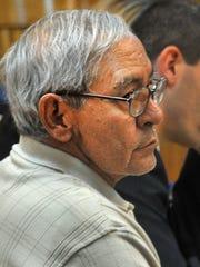 Antonio Parra Perez in the 89th District Courtroom