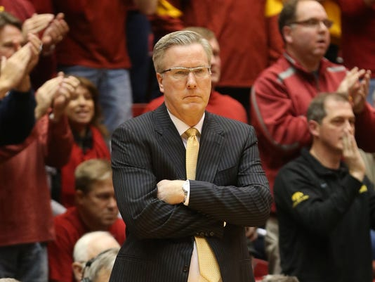 NCAA Basketball: Iowa at Iowa State