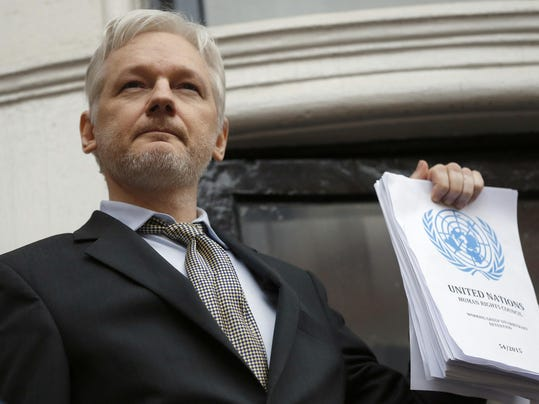 Britain United Nations Assange