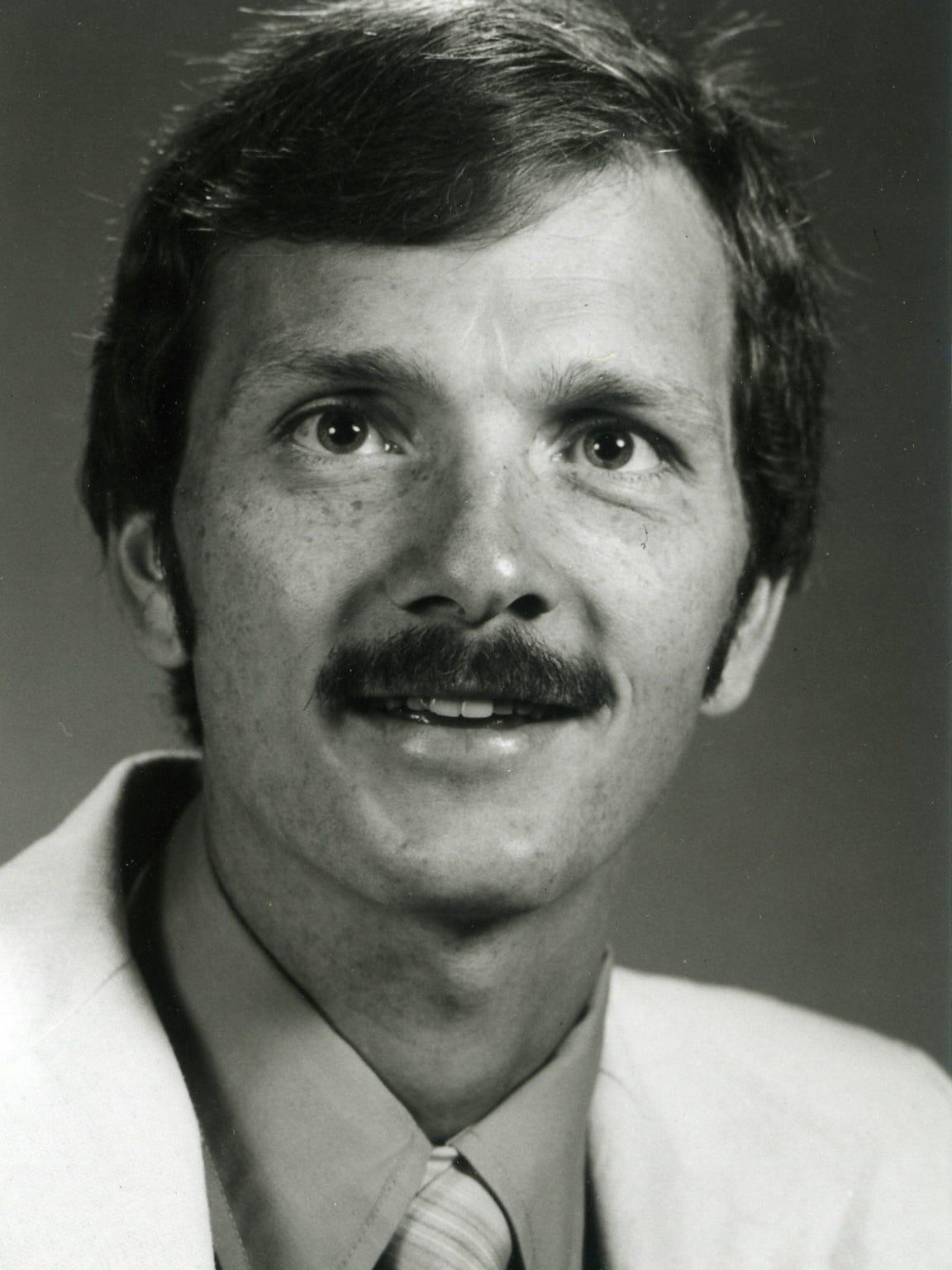 Ron Renko, Iowa State women's cross country coach in 1985.