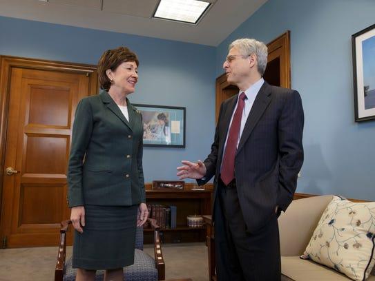 Hasta ahora, la senadora de Maine, Susan Collins, ha