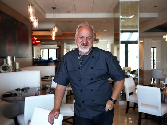 Chef Art Smith in his new restaurant, 1500 South, at