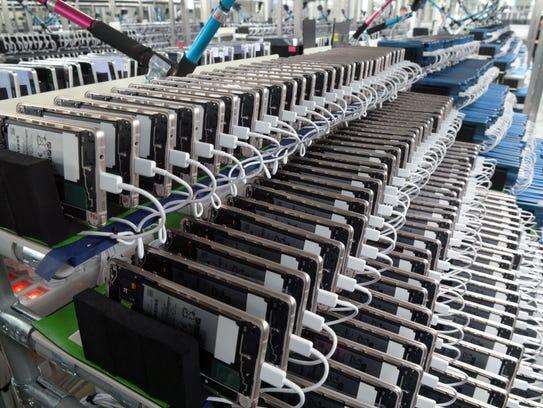 Factory in Gumi, Korea where Samsung Galaxy Note 7s