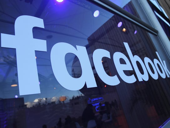 The Facebook logo is displayed at the Facebook Innovation