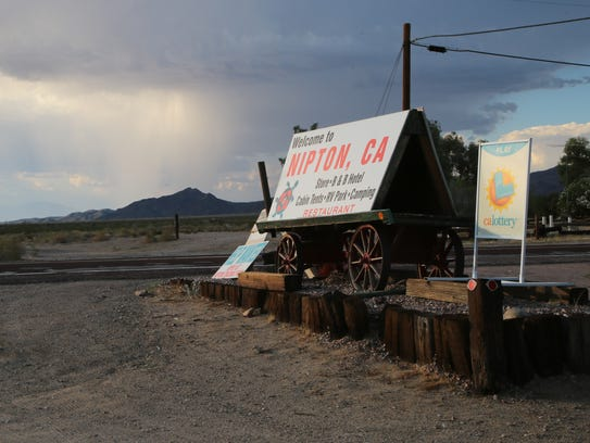 The town of Nipton, Calif., was recently sold to American