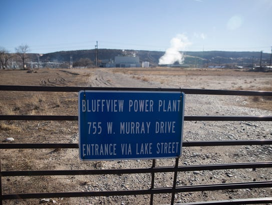 The Bluffview Power Plant is pictured on Tuesday, Jan.