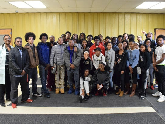 These Ypsilanti High School students are among the