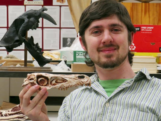 Steven Jasinski, a New Freedom resident and Susquehannock High School graduate, recently named a new species of dinosaur the Saurornitholestes sullivani.