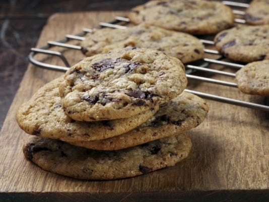 Chicharrones, known in the U.S. as pork cracklings or pork rinds, add a surprisingly welcome savory touch to chocolate chip cookies.