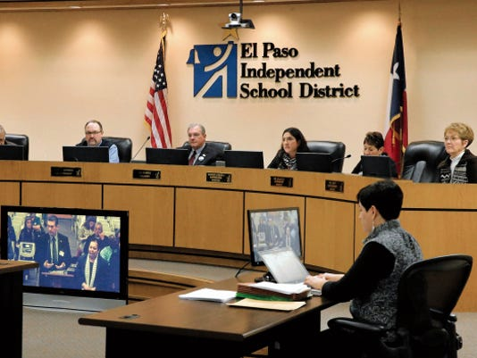 The El Paso Independent School District's Board of Managers voted Thursday to move their headquarters to EPISD-owned land in Northeast El Paso. The board also postponed discussions on the possible closures of schools within the district.