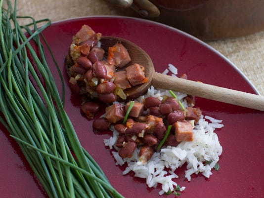 Food Healthy Red Beans and Rice (2)