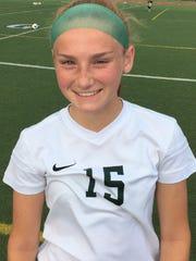 Novi sophomore forward Avery Fenchel scored her 17th