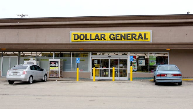 The Dollar General store at 1131 Marquette Ave. in South Milwaukee.