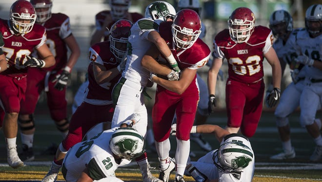Friday's Rocky Mountain vs. Fossil Ridge football game can be watched live at Coloradoan.com.