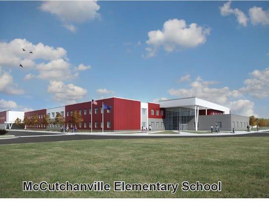 McCutchanville Elementary School rendering