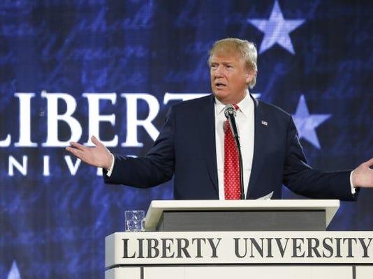 AP GOP 2016 TRUMP EVANGELICALS A FILE ELN USA VA