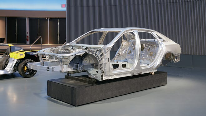 The Cadillac CT6 luxury sedan is likely to be the first to benefit from a new welding process to join aluminum to steel.