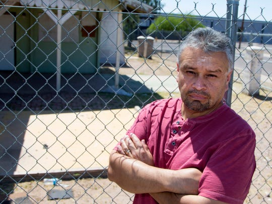 Paul Moreno is trying to save a house, built by his parents, from demolition.
