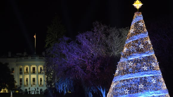 The 95th annual National Christmas Tree Lighting is
