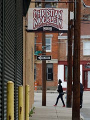 Christian Moerlein Brewing Company on Moore Street in Over-the-Rhine was the Kauffman Brewery before prohibition. The building is part of the upcoming Cincinnati Brewing Heritage Trail.