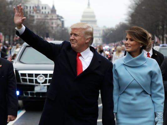 AP TRUMP INAUGURAL DONORS A FILE USA DC
