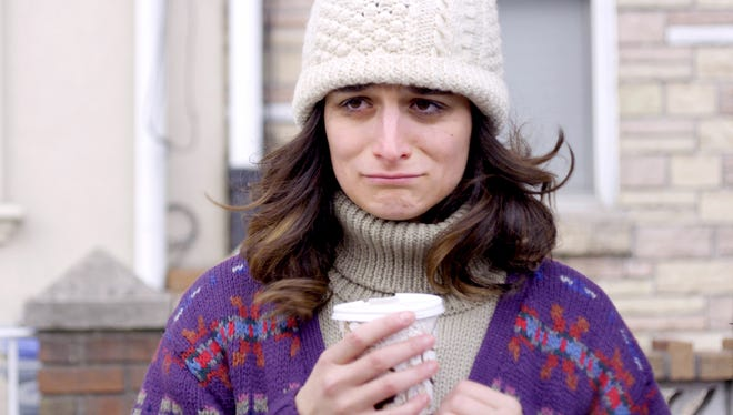 """Donna Stern (Jenny Slate) draws on her life events for her stand-up comedy in the movie """"Obvious Child."""""""