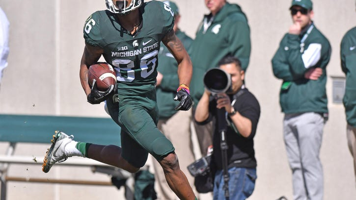 Young MSU receivers show confidence catching on