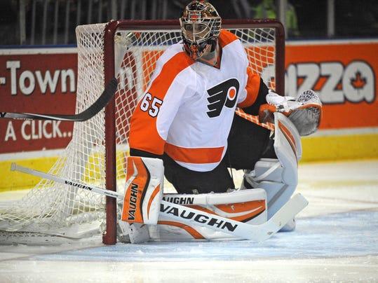 NHL: Preseason-Toronto Maple Leafs at Philadelphia Flyers