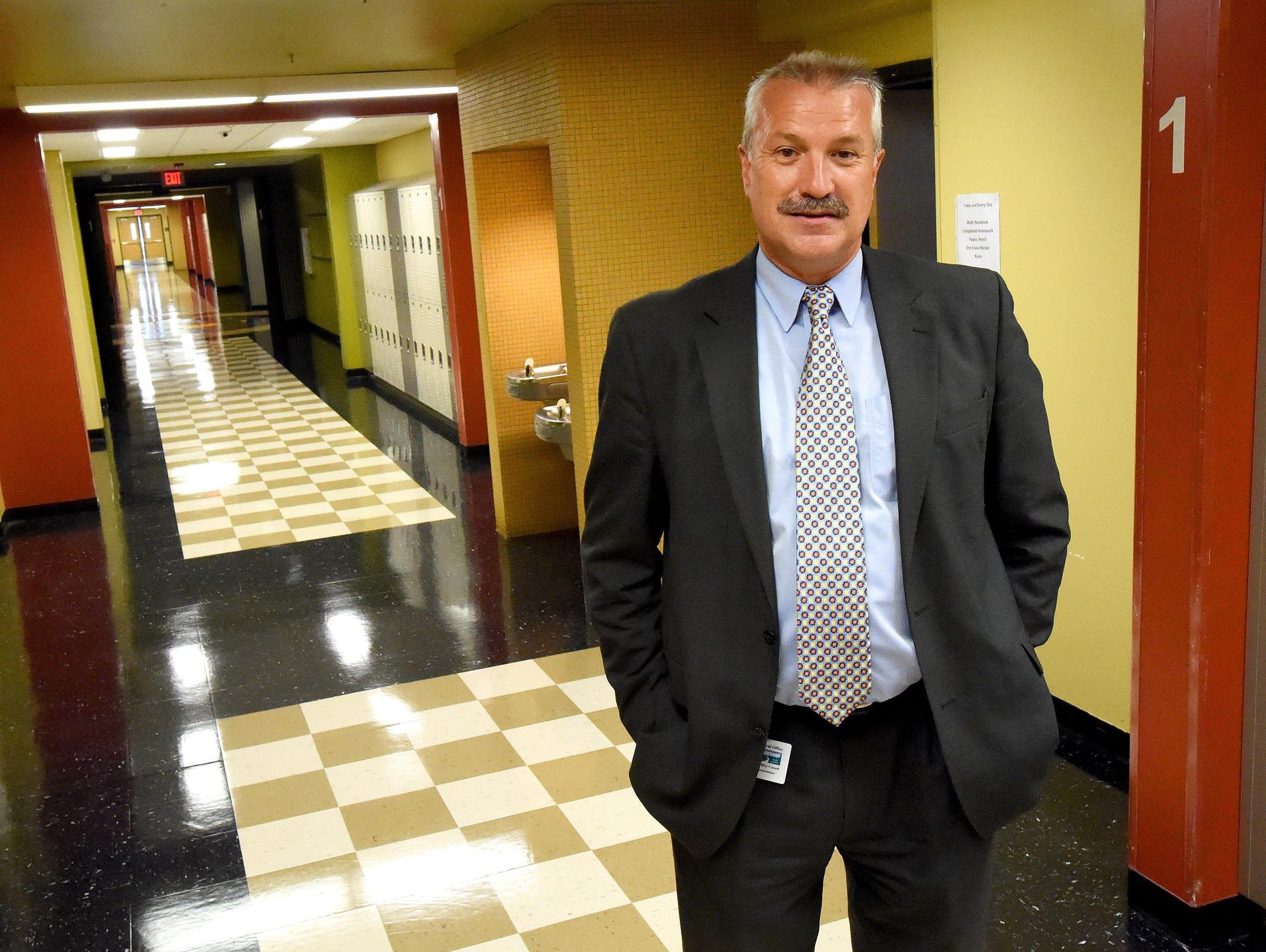 Jeffery Cassell, superintendent of Waynesboro Public