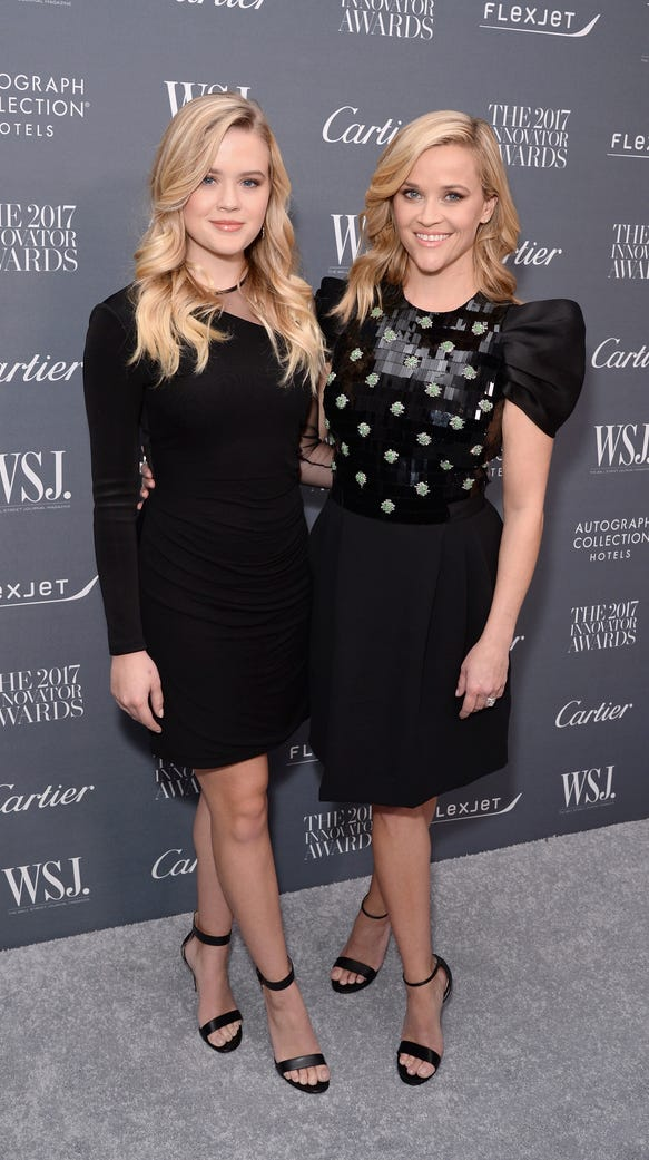 Reese Witherspoon, right, and daughter Ava Phillippe