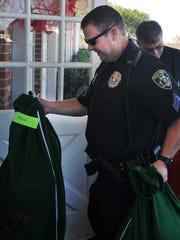 Wichita Falls police sergeant John Spragins helped