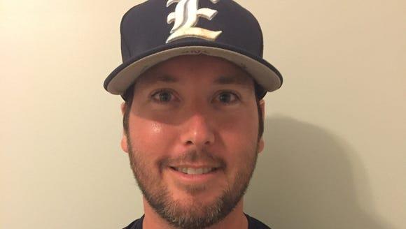 Enka baseball coach Matt Dawson.