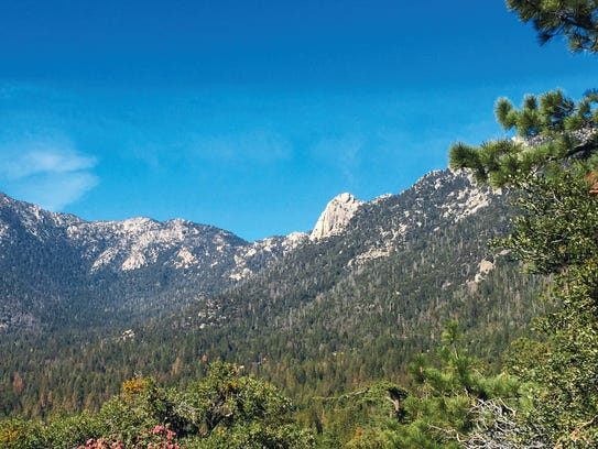 Tahquitz Peak, also called Lily Rock, is a prominant