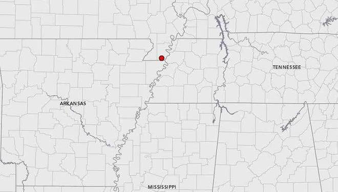The U.S. Geological Survey confirmed a 4.0 magnitude earthquake in Missouri that was felt in Memphis Wednesday night