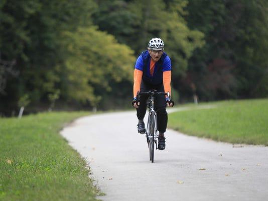 Bike on Cardinal Greenway