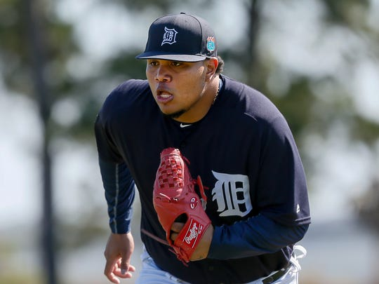 Tigers pitcher Bruce Rondon