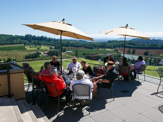 Willamette Valley Vineyards will host a variety of events in the courtyard throughout the summer.