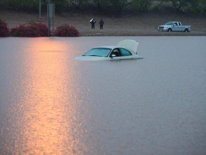 Monsoon Rain Floods Valley