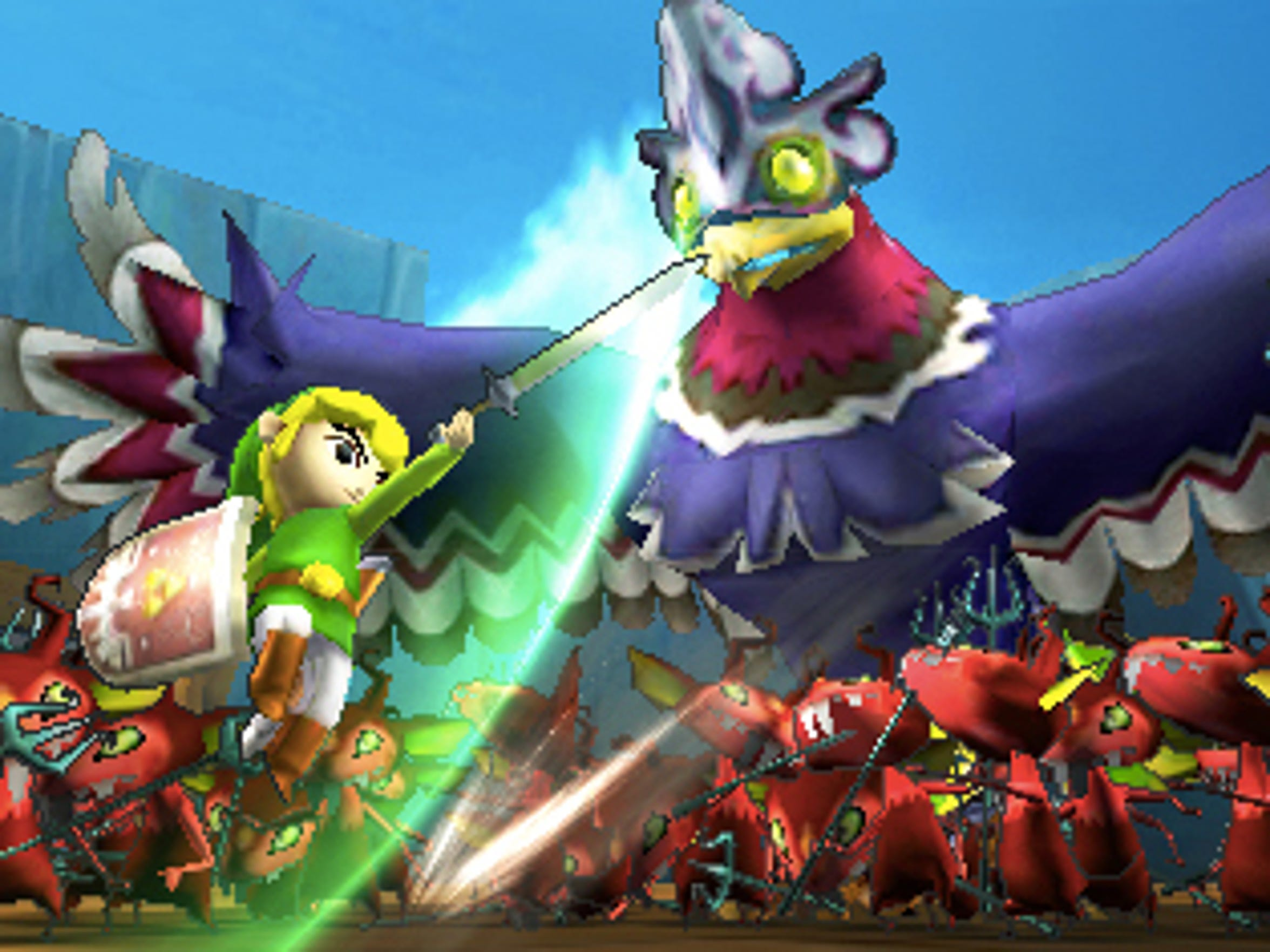 Toon Link enters the fray in Hyrule Warriors Legends