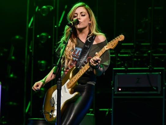 Lindsay Ell  at the KFC Yum Center Friday March 23rd,