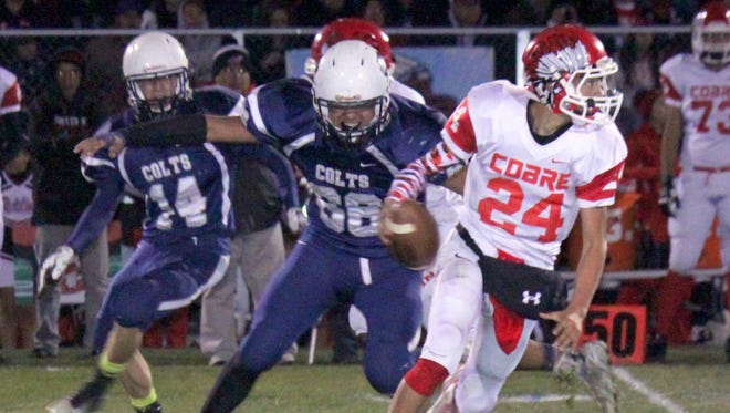 Cobre High was seeded No. 3, while Silver High grabbed a No. 9 seed in the Class 4A New Mexico High School State Football Championships.
