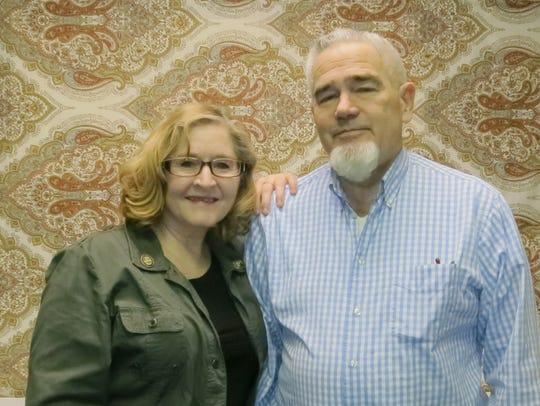 Laura Hernandez and Larry Watters, both of Redding,